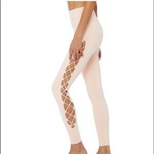ALO YOGA High Waist Interlace Leggings Size XS